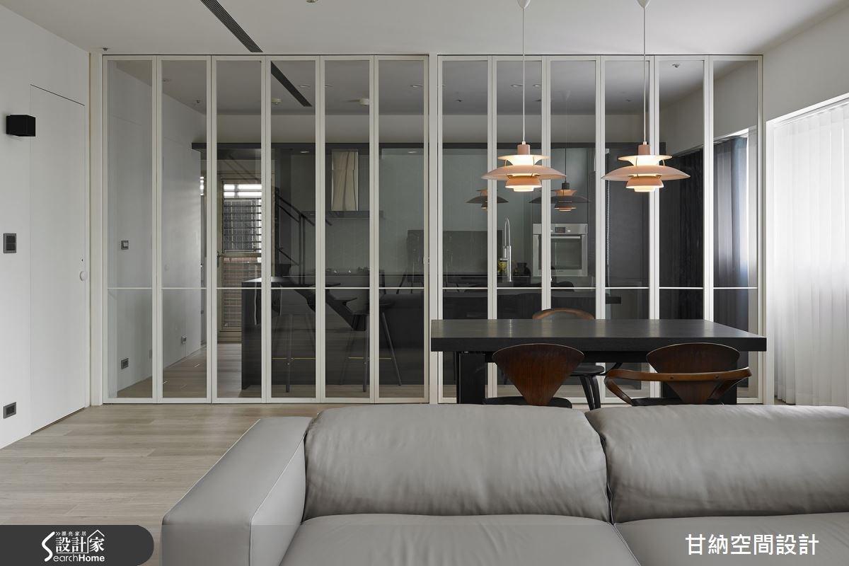 45坪中古屋(5~15年)_混搭風客廳案例圖片_甘納空間設計_甘納_20之2