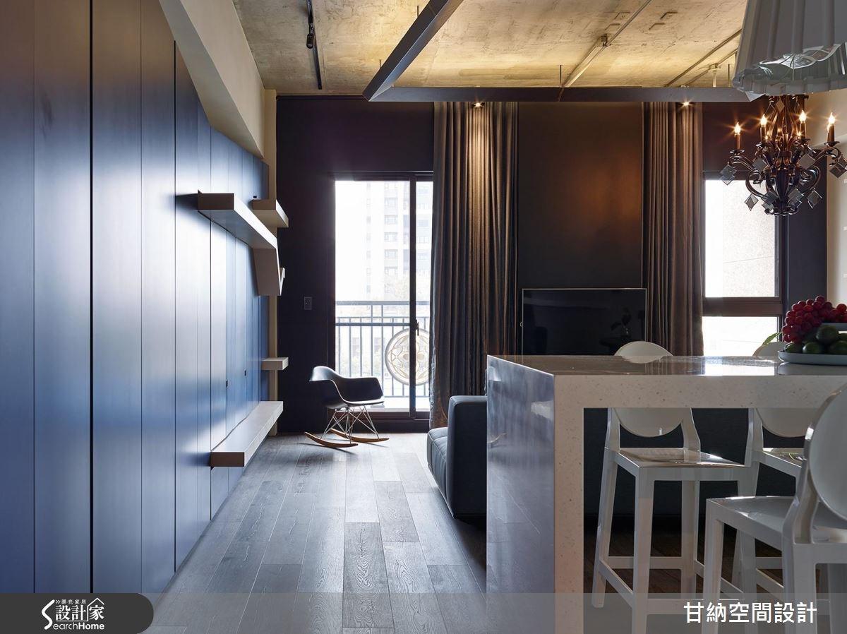 19坪新成屋(5年以下)_混搭風餐廳案例圖片_甘納空間設計_甘納_24之1