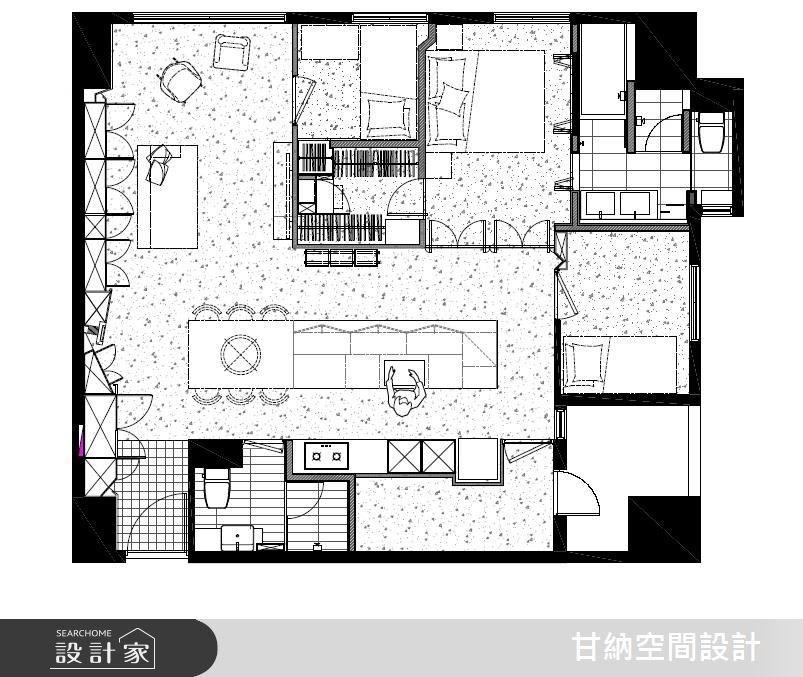 30坪中古屋(5~15年)_現代風案例圖片_甘納空間設計_甘納_25之17