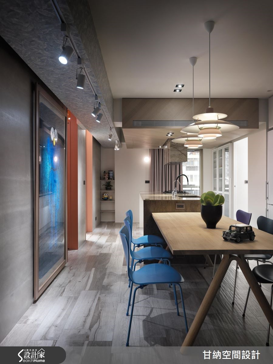 26坪老屋(16~30年)_混搭風餐廳案例圖片_甘納空間設計_甘納_28之5