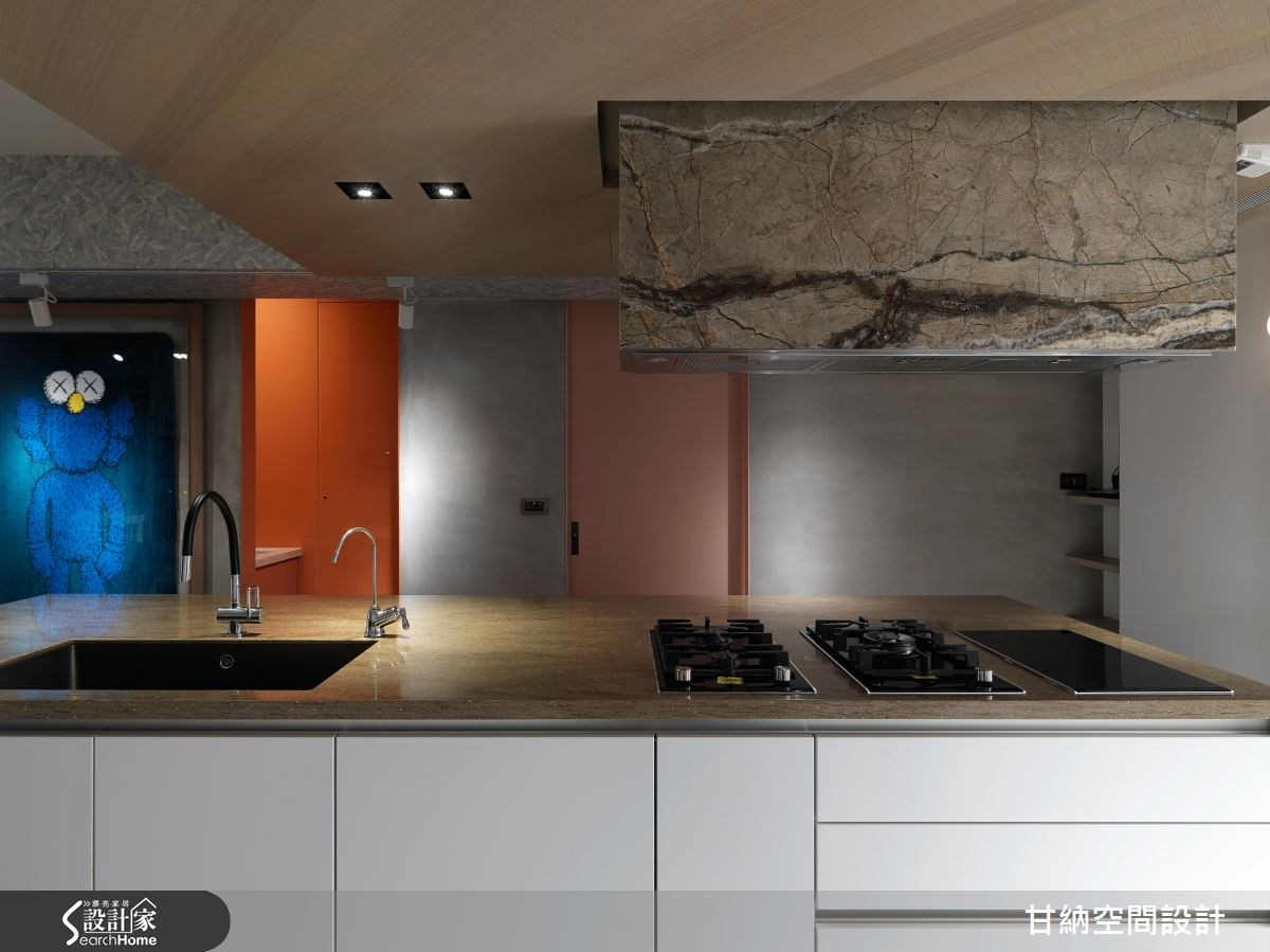 26坪老屋(16~30年)_混搭風廚房案例圖片_甘納空間設計_甘納_28之6