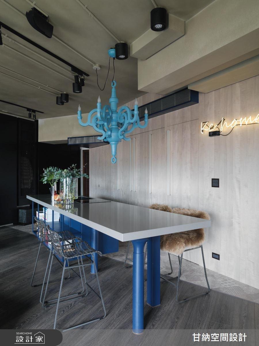 34坪新成屋(5年以下)_工業風餐廳案例圖片_甘納空間設計_甘納_29之2