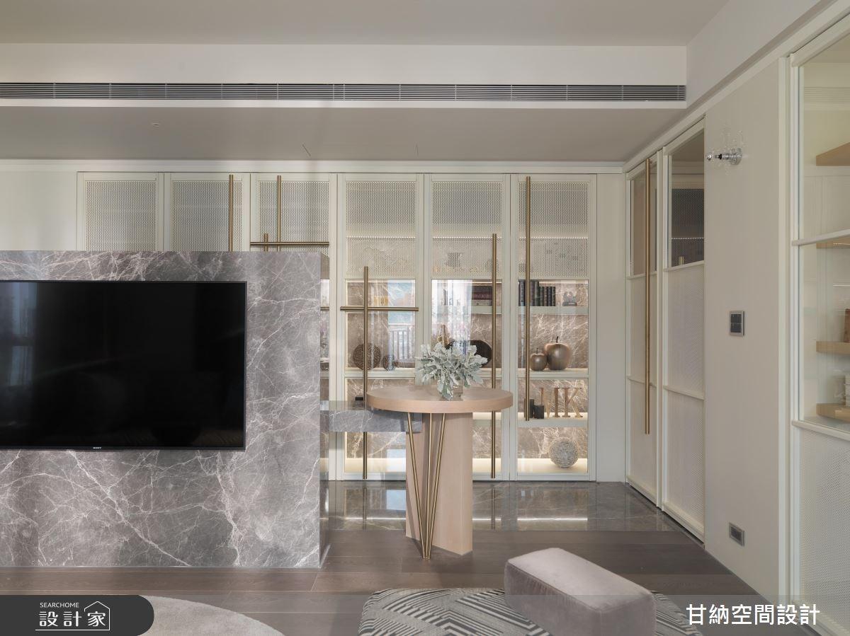 42坪新成屋(5年以下)_混搭風客廳案例圖片_甘納空間設計_甘納_31之3