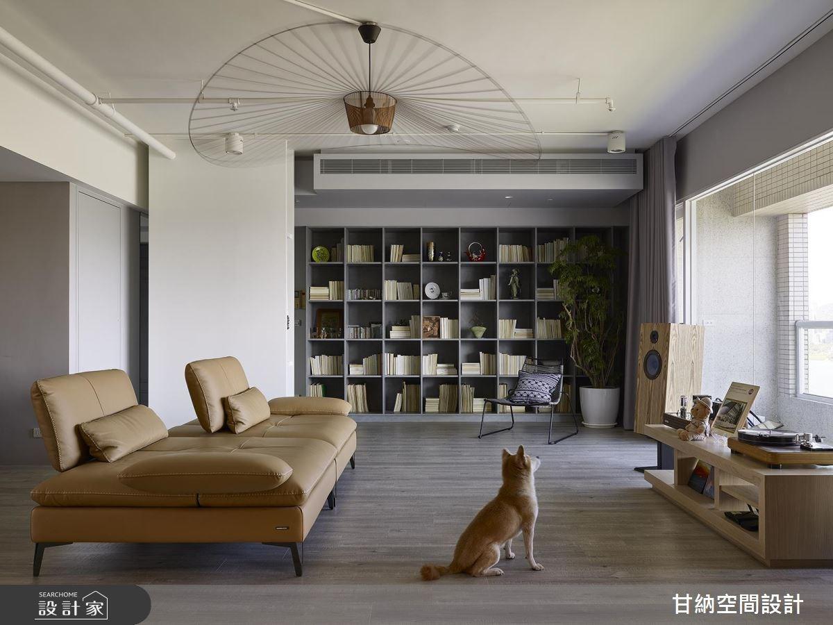 31坪中古屋(5~15年)_混搭風客廳案例圖片_甘納空間設計_甘納_32之3