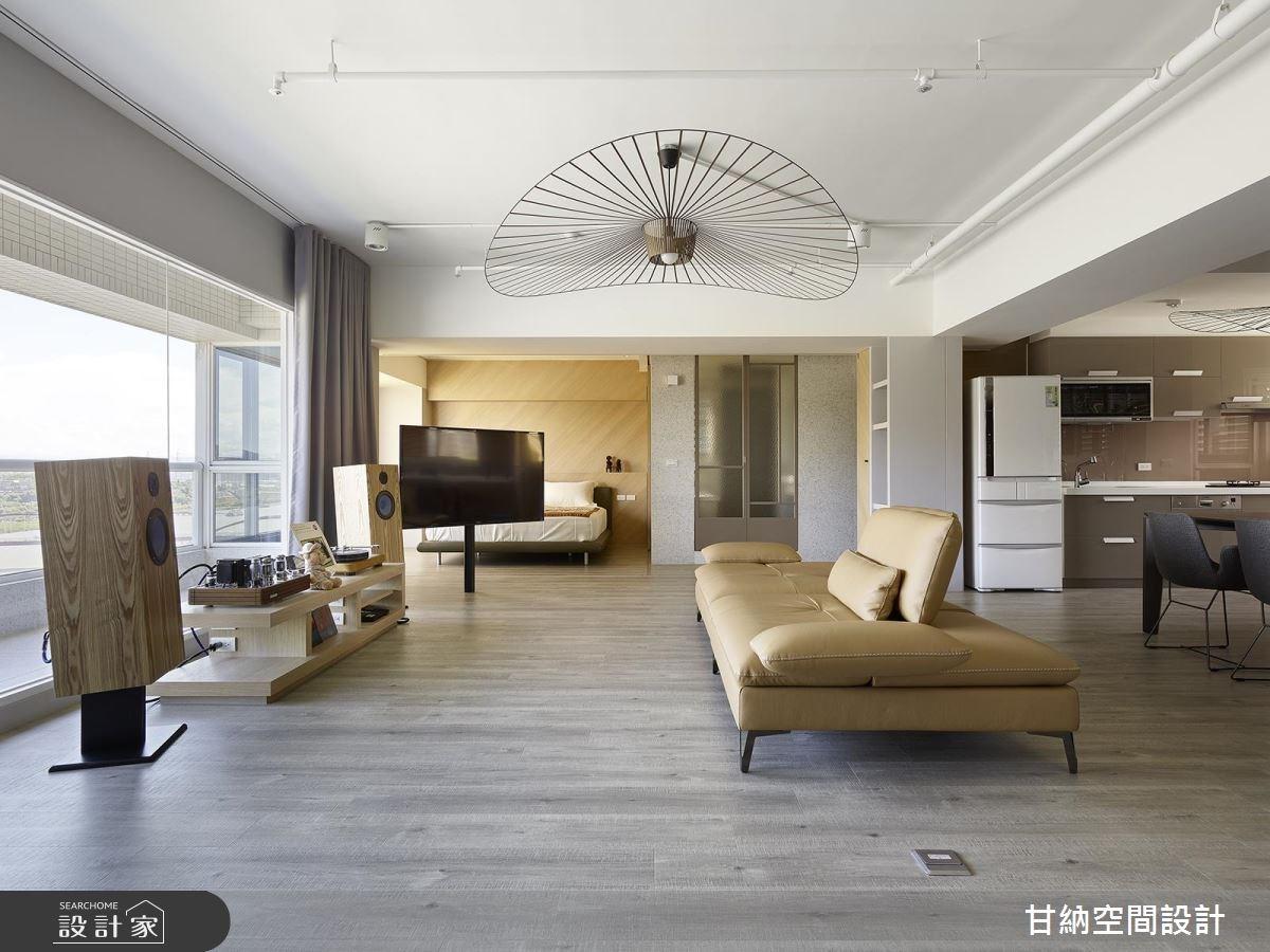 31坪中古屋(5~15年)_混搭風客廳案例圖片_甘納空間設計_甘納_32之5