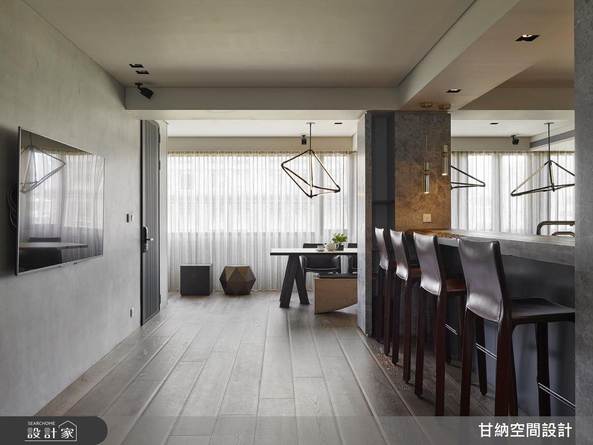 41坪老屋(16~30年)_混搭風餐廳案例圖片_甘納空間設計_甘納_33之4