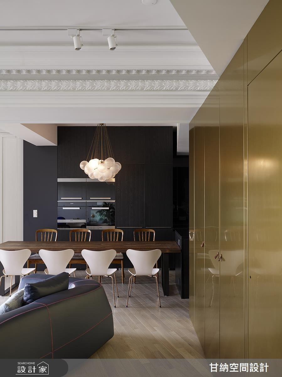 23坪新成屋(5年以下)_混搭風餐廳案例圖片_甘納空間設計_甘納_35之4