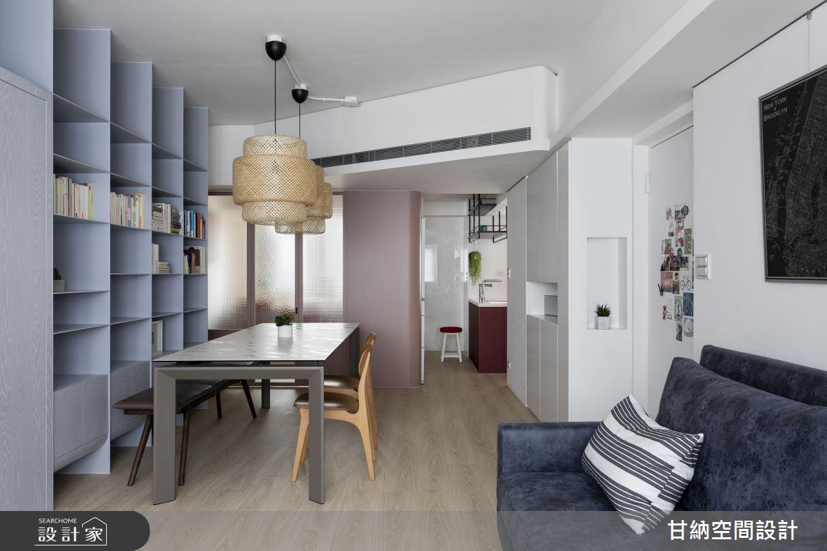 23坪中古屋(5~15年)_現代風客廳餐廳案例圖片_甘納空間設計_甘納_39之4