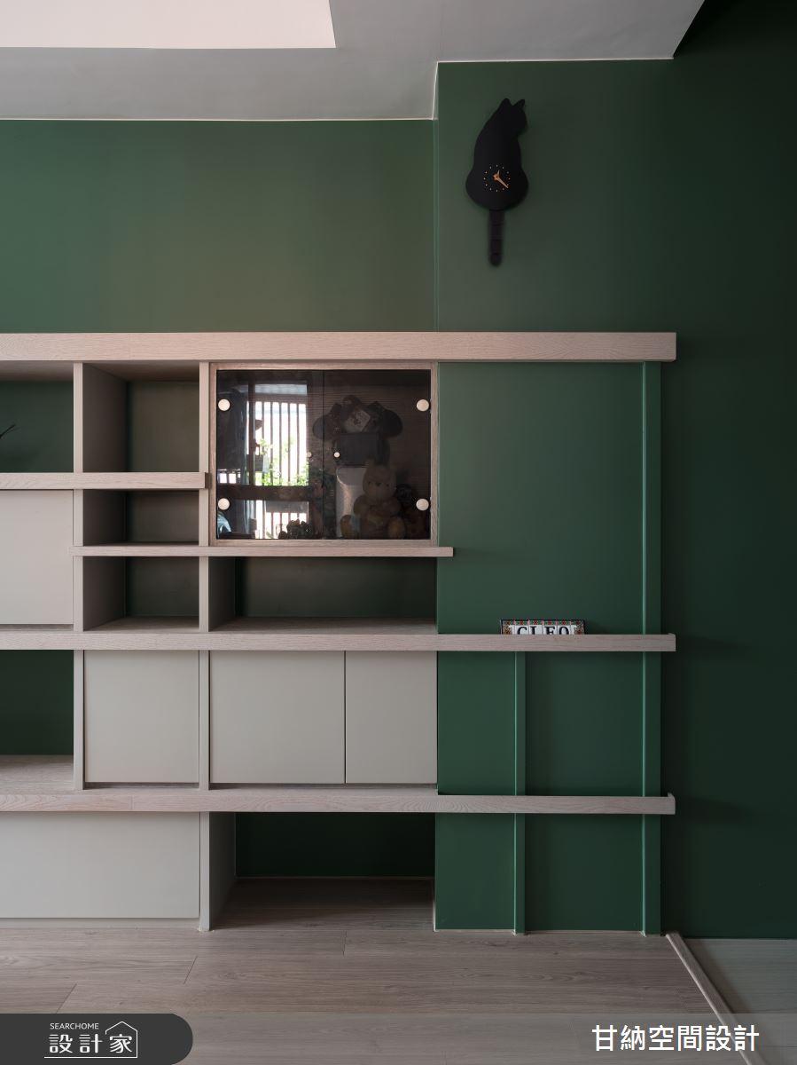 24坪新成屋(5年以下)_混搭風案例圖片_甘納空間設計_甘納_41之3