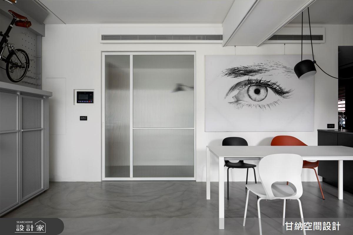 23坪新成屋(5年以下)_現代風玄關餐廳案例圖片_甘納空間設計_甘納_47之4