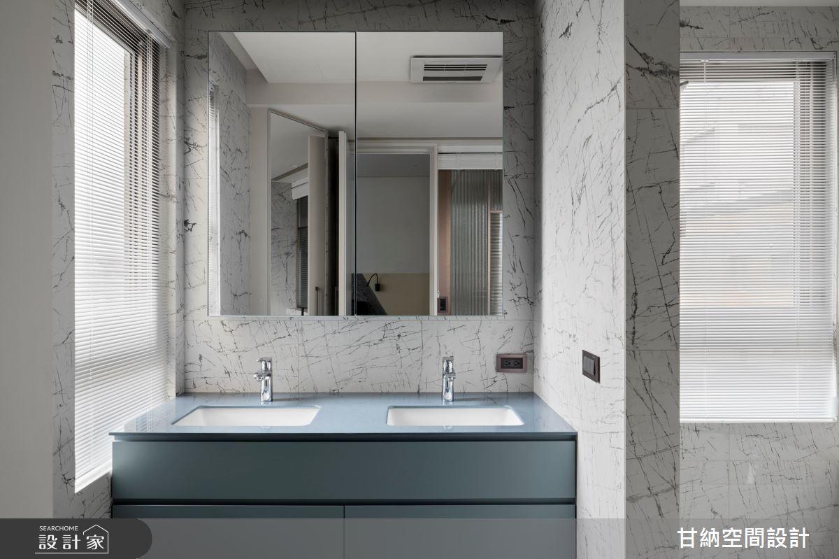 46坪新成屋(5年以下)_混搭風浴室案例圖片_甘納空間設計_甘納_45之25