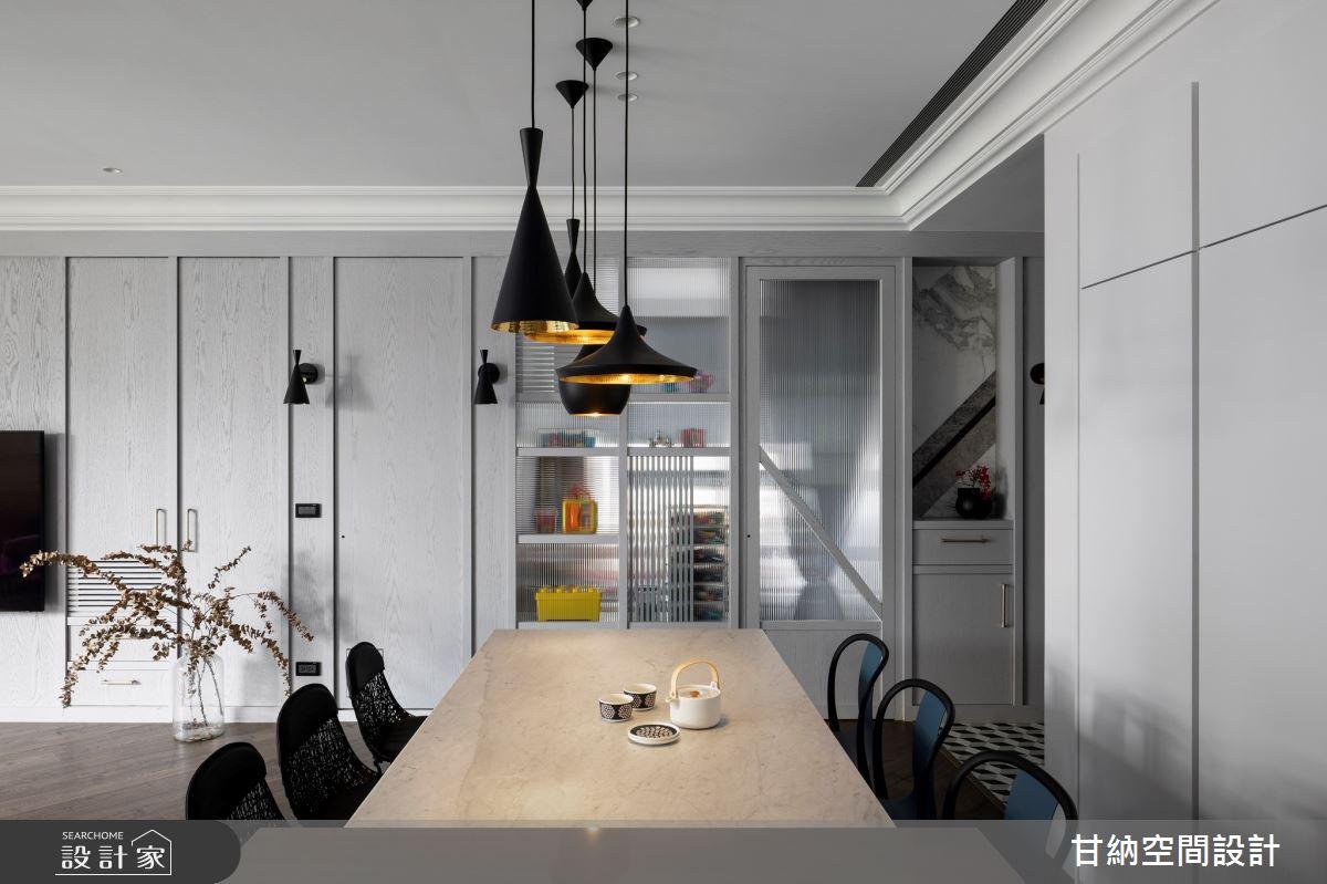 38坪新成屋(5年以下)_混搭風餐廳案例圖片_甘納空間設計_甘納_46之5