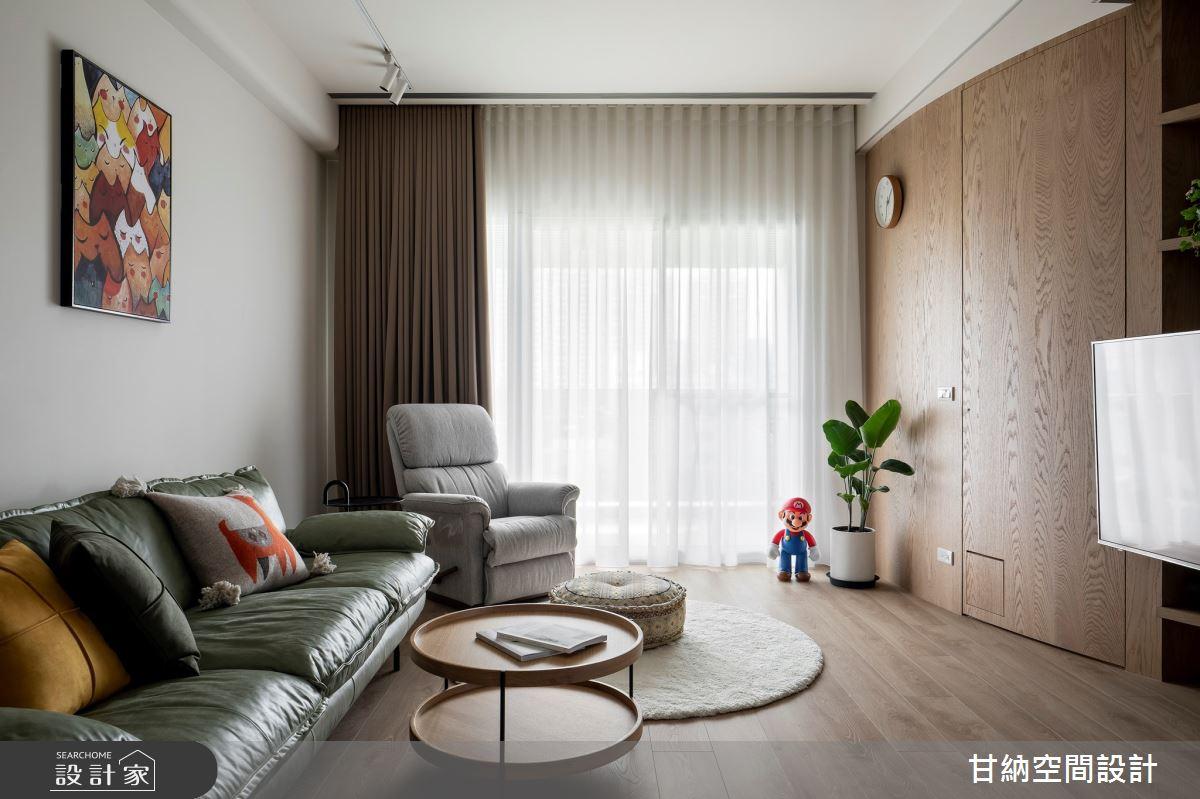 25坪新成屋(5年以下)_北歐風案例圖片_甘納空間設計_甘納_52之4