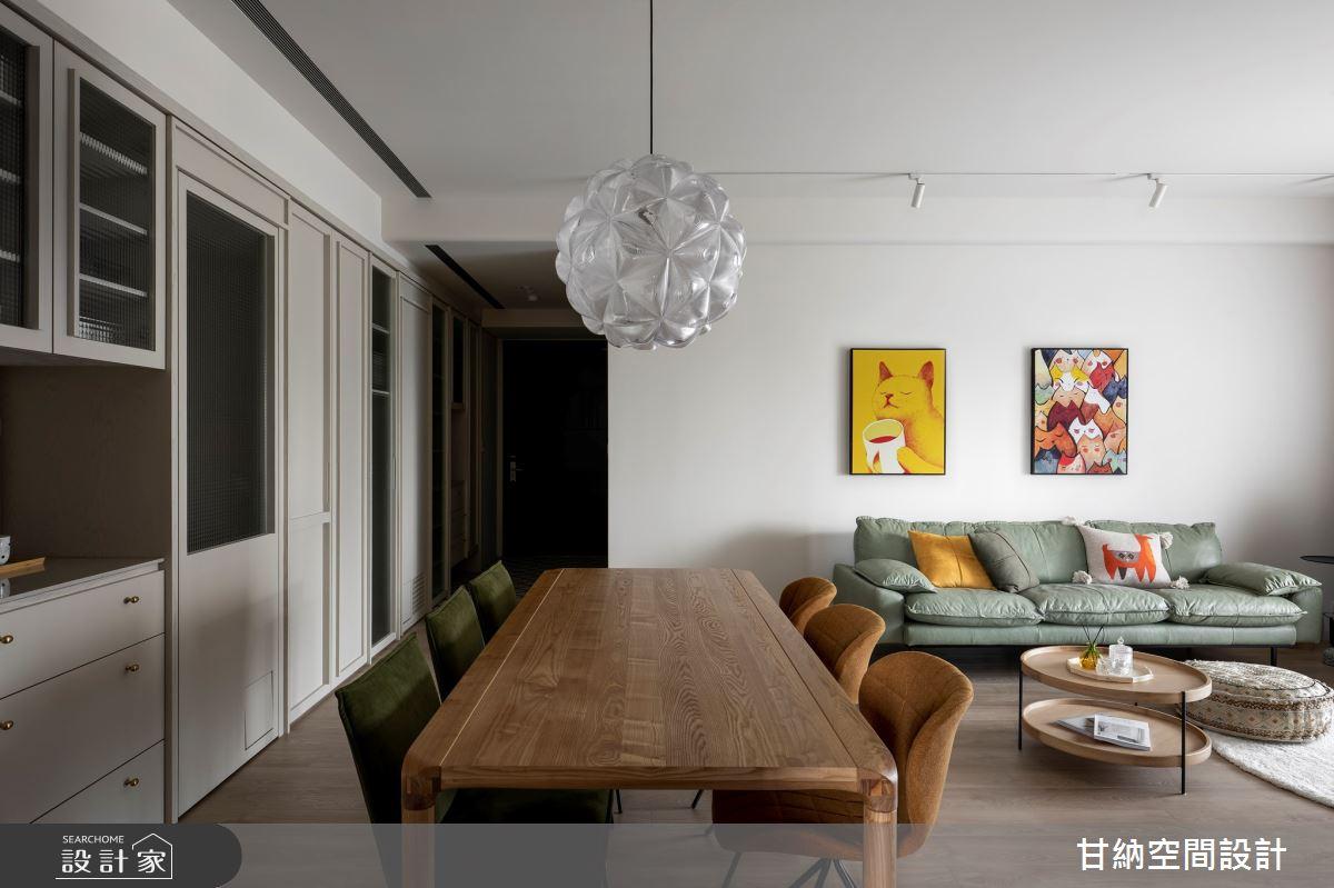 25坪新成屋(5年以下)_北歐風案例圖片_甘納空間設計_甘納_52之2