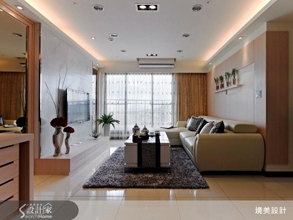 35坪新成屋(5年以下)_現代風案例圖片_境美室內裝修有限公司_境美_11之3