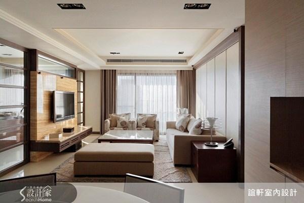 45坪新成屋(5年以下)_奢華風案例圖片_誼軒室內設計_誼軒_05之1