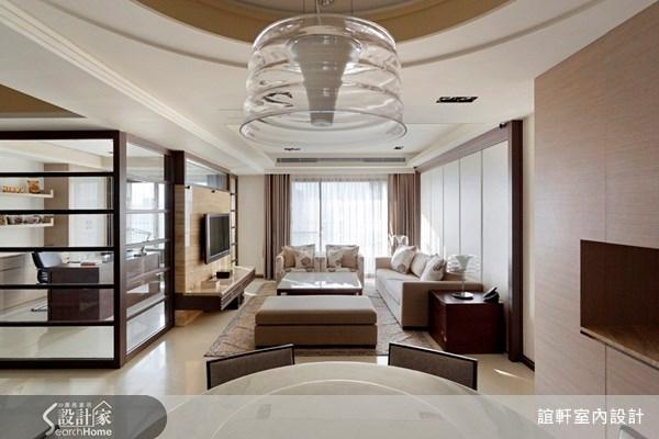 45坪新成屋(5年以下)_奢華風案例圖片_誼軒室內設計_誼軒_05之3