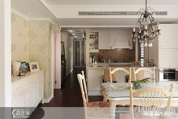 40坪新成屋(5年以下)_鄉村風餐廳案例圖片_陶璽空間設計_陶璽_08之4