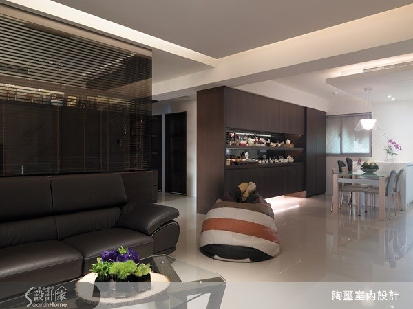 38坪新成屋(5年以下)_現代風客廳餐廳案例圖片_陶璽空間設計_陶璽_04(20161219設計師要求下架)之3