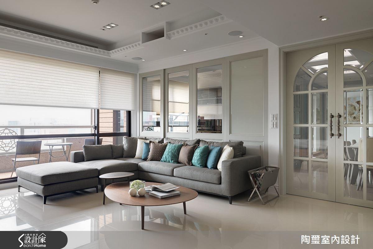 新成屋(5年以下)_新古典客廳案例圖片_陶璽空間設計_陶璽_13之3