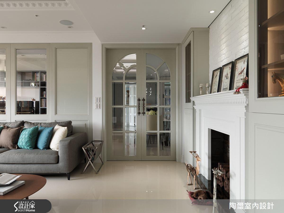 新成屋(5年以下)_新古典客廳案例圖片_陶璽空間設計_陶璽_13之4