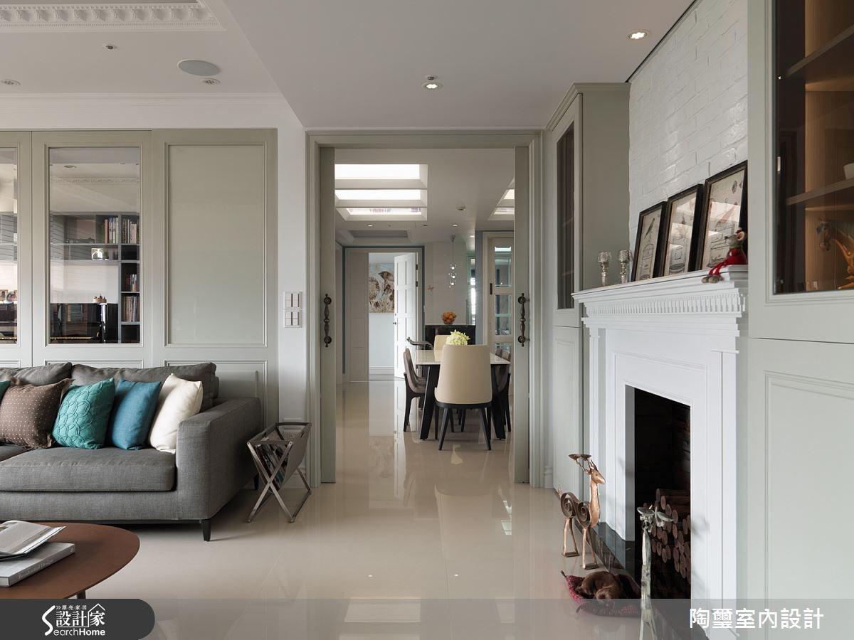 新成屋(5年以下)_新古典客廳案例圖片_陶璽空間設計_陶璽_13之5
