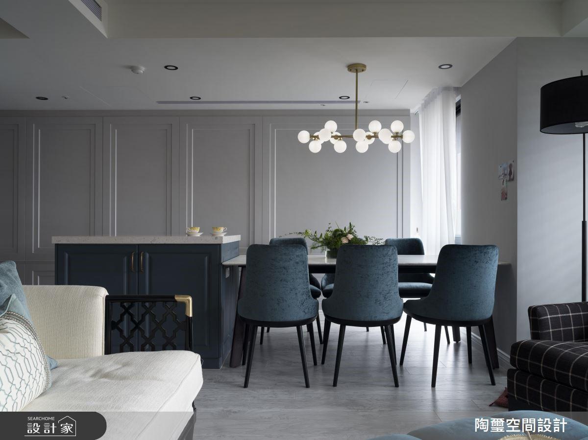 57坪新成屋(5年以下)_美式風客廳餐廳案例圖片_陶璽空間設計_陶璽_34之6