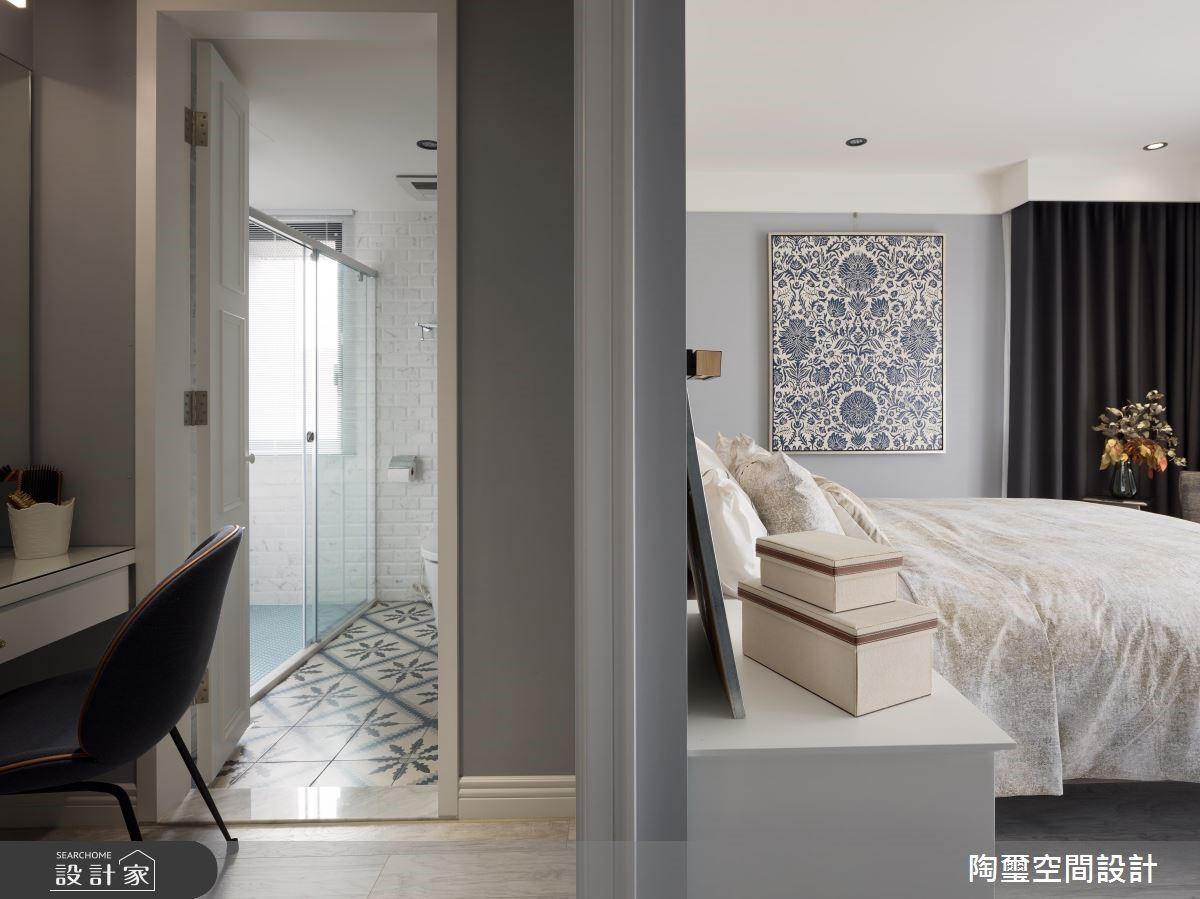 57坪新成屋(5年以下)_美式風臥室案例圖片_陶璽空間設計_陶璽_34之15