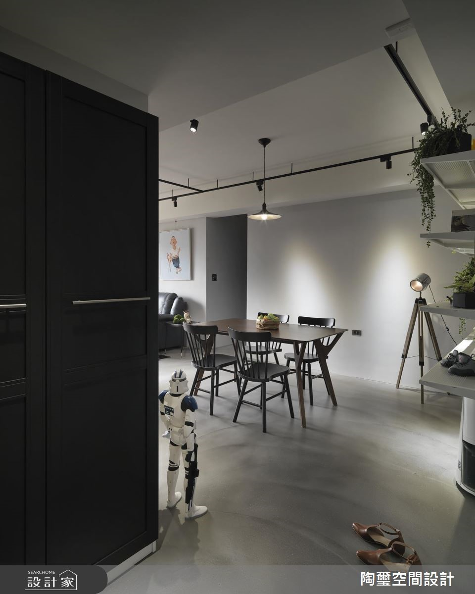 40坪老屋(16~30年)_工業風餐廳案例圖片_陶璽空間設計_陶璽_35之3