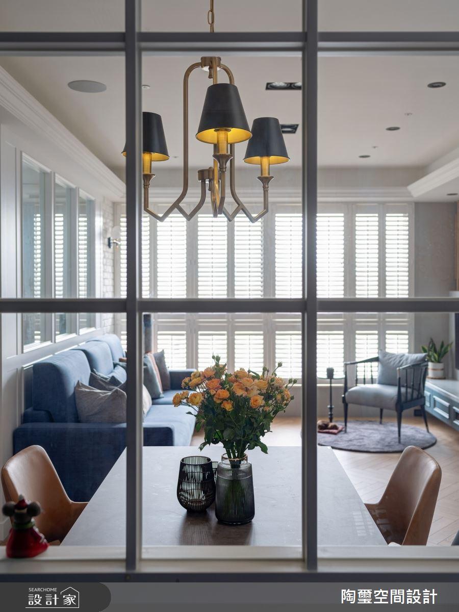 35坪新成屋(5年以下)_美式風案例圖片_陶璽空間設計_陶璽_39之2