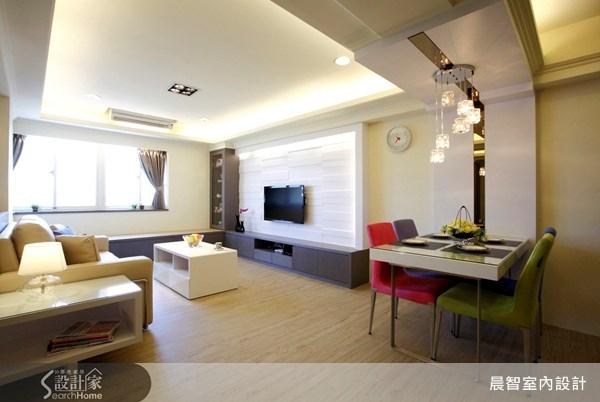 30坪中古屋(5~15年)_現代風案例圖片_晨智室內設計_晨智_04之3