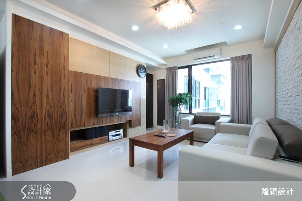 25坪新成屋(5年以下)_現代風案例圖片_隆穎空間設計_隆穎_02之2