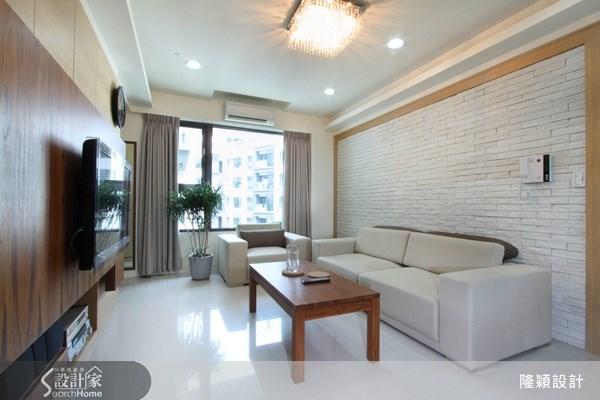 25坪新成屋(5年以下)_現代風案例圖片_隆穎空間設計_隆穎_02之1