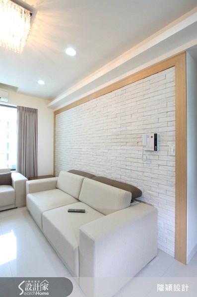 25坪新成屋(5年以下)_現代風案例圖片_隆穎空間設計_隆穎_02之3