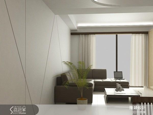 38坪新成屋(5年以下)_現代風案例圖片_隆穎空間設計_隆穎_05之2