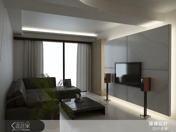 38坪新成屋(5年以下)_現代風案例圖片_隆穎空間設計_隆穎_05之1