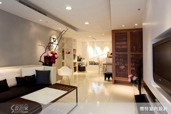25坪新成屋(5年以下)_現代風客廳案例圖片_懷特室內設計_懷特_02之2