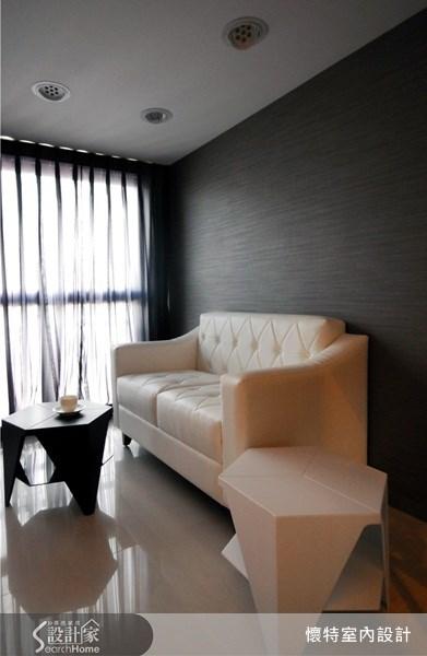 10坪新成屋(5年以下)_簡約風客廳案例圖片_懷特室內設計_懷特_05之4