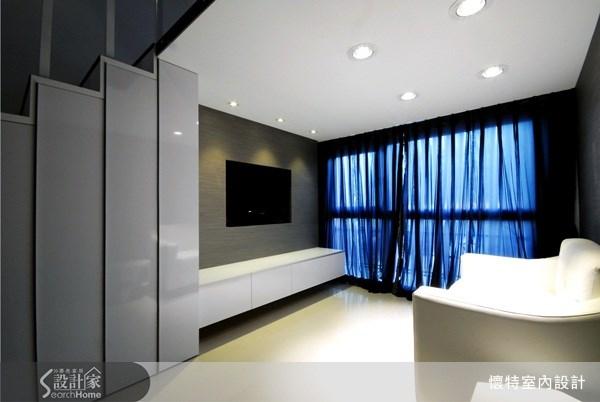 10坪新成屋(5年以下)_簡約風客廳案例圖片_懷特室內設計_懷特_05之1