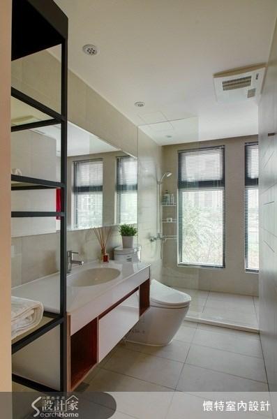 20坪新成屋(5年以下)_工業風浴室案例圖片_懷特室內設計_懷特_06之19