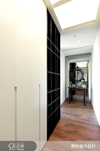 50坪中古屋(5~15年)_現代風走廊案例圖片_懷特室內設計_懷特_08之17