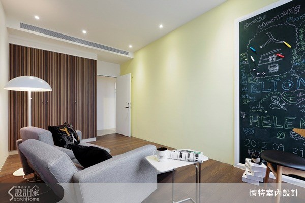 35坪新成屋(5年以下)_現代風客廳案例圖片_懷特室內設計_懷特_13之1