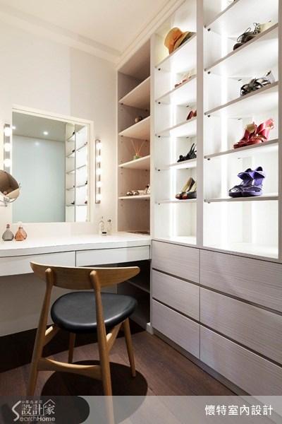 35坪新成屋(5年以下)_現代風更衣間案例圖片_懷特室內設計_懷特_13之3
