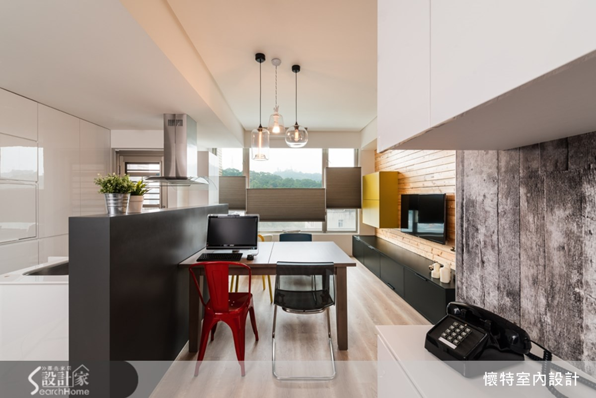 18坪中古屋(5~15年)_現代風餐廳案例圖片_懷特室內設計_懷特_15之2
