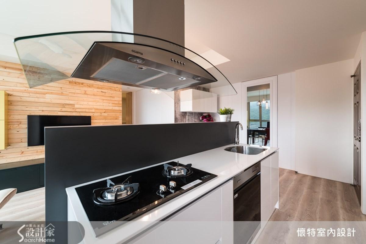 18坪中古屋(5~15年)_現代風廚房案例圖片_懷特室內設計_懷特_15之5