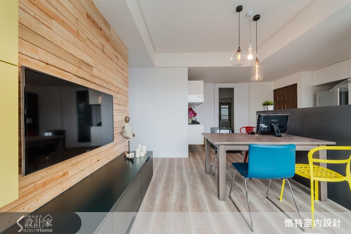 18坪中古屋(5~15年)_現代風餐廳案例圖片_懷特室內設計_懷特_15之4