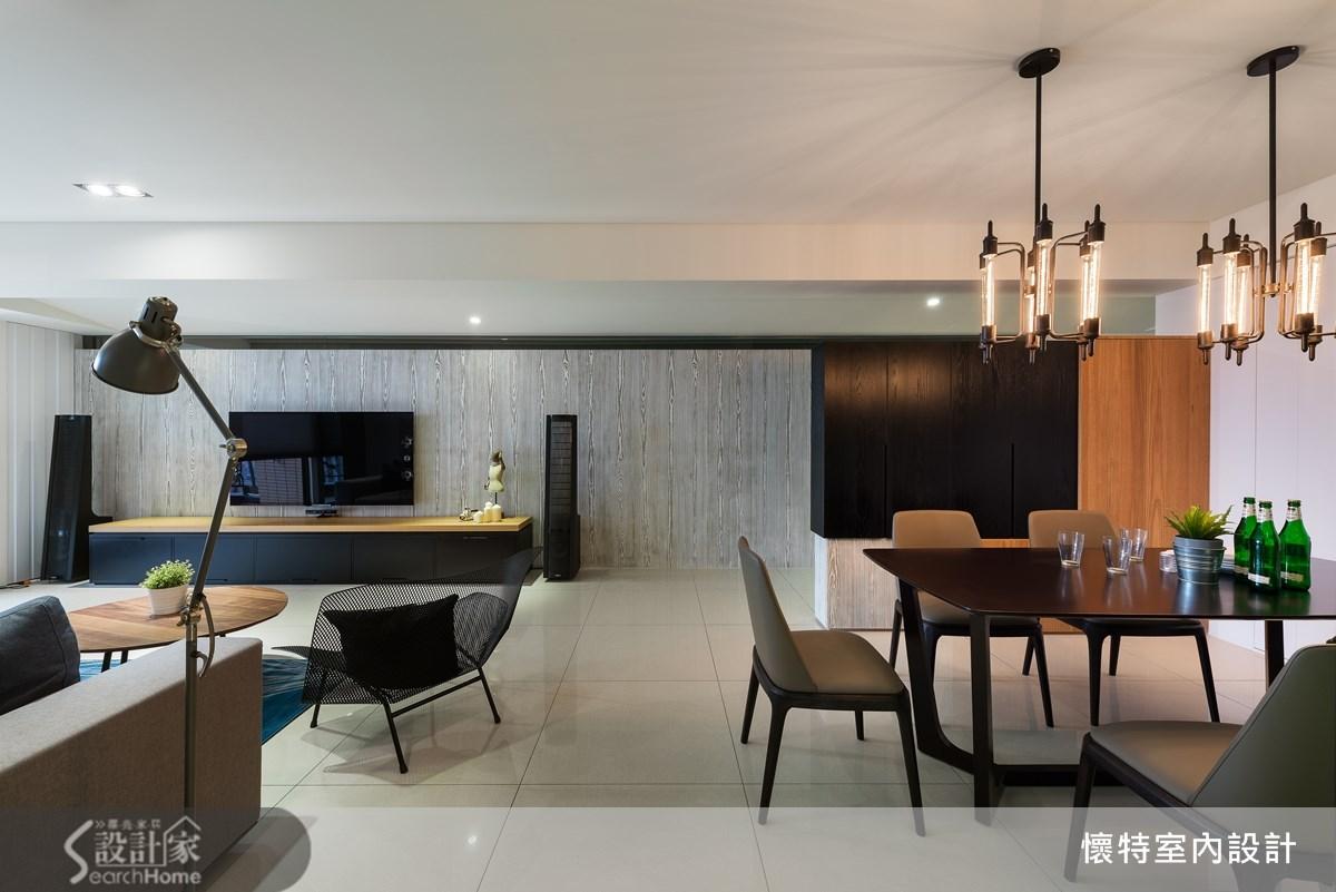 40坪新成屋(5年以下)_工業風餐廳案例圖片_懷特室內設計_懷特_16之4