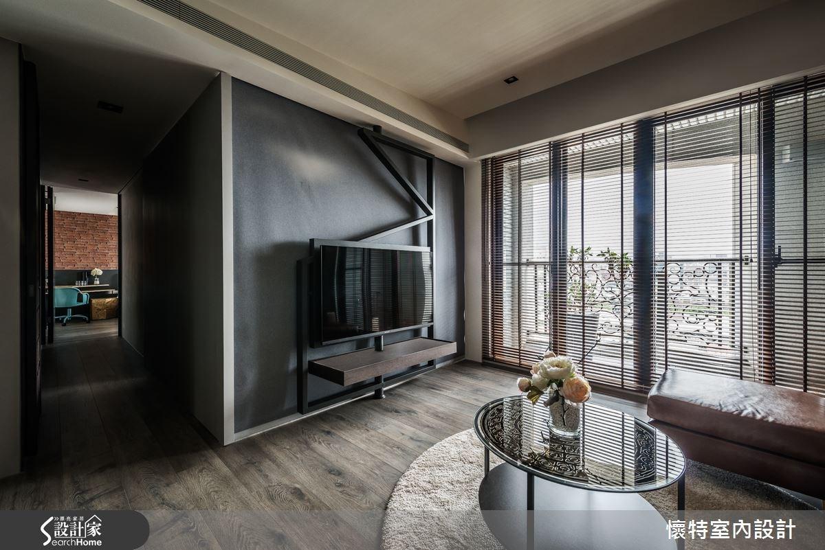 35坪新成屋(5年以下)_現代風客廳案例圖片_懷特室內設計_懷特_23之5
