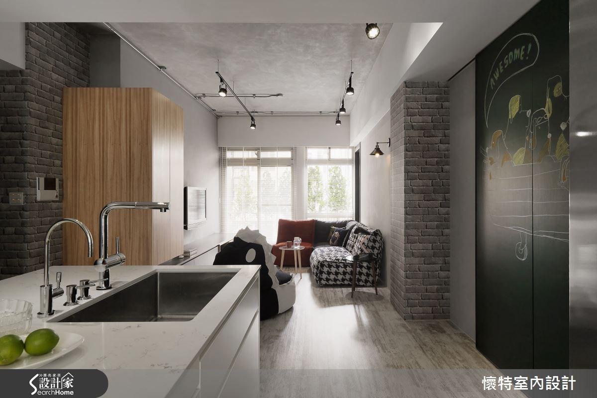 35坪_現代風吧檯案例圖片_懷特室內設計_懷特_25之3