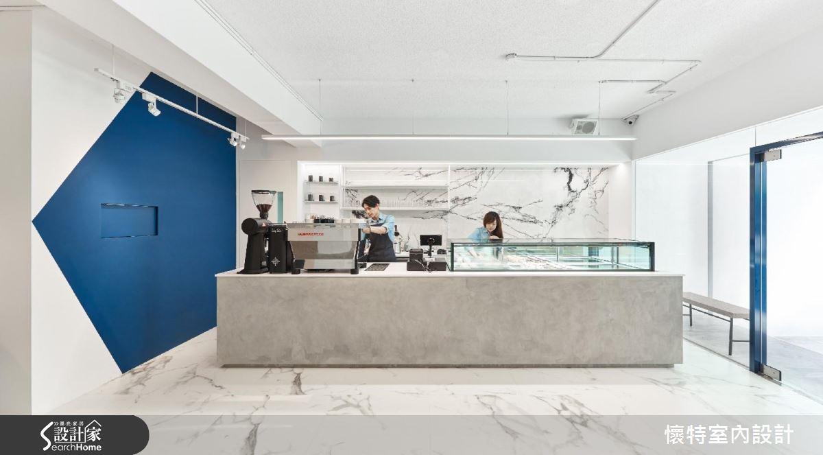 清新用色X現代設計 法式甜點店的驚奇想像!